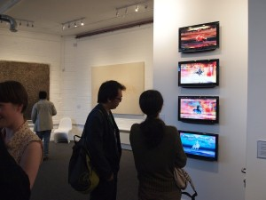 Gordon Cheung's The Four Riders at the Hua Gallery, London, 2012