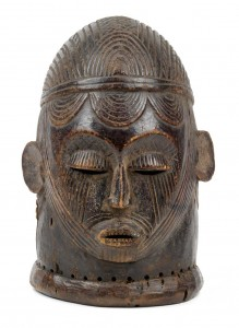 A helmet mask of the Igala, Nigeria € 4,800 - 5,400