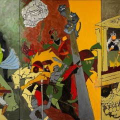 Last of the master: Final paintings of M F Husain